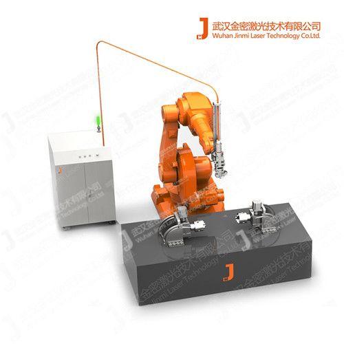 激光焊接机的激光头起着决定性的作用