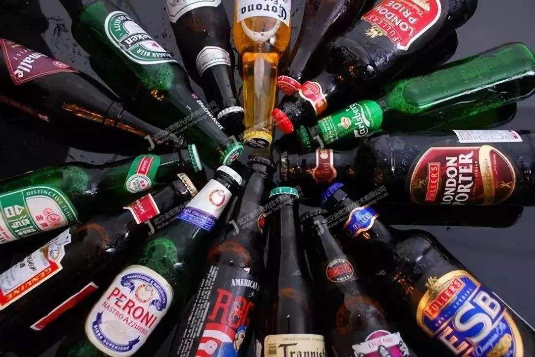 激光打标在啤酒瓶上的防伪作用